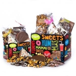 Snack Basket Stuffed with  CB Stuffer products