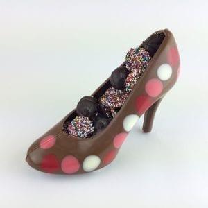 All Chocolate Shoe