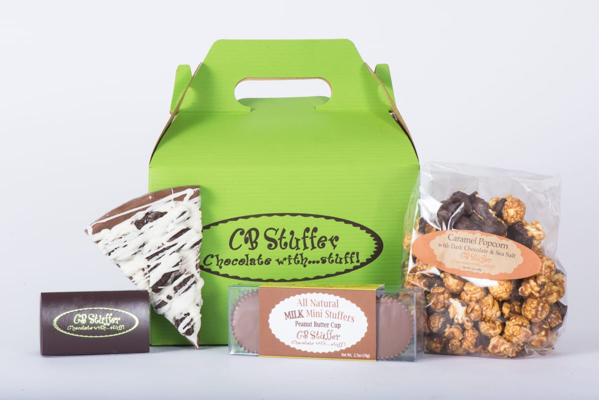 Gable Box of CB Stuffer Snacks