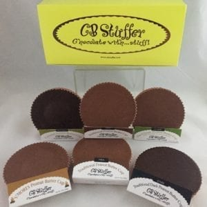 CB Stuffer peanut butter cups 6 pack as seen on QVC